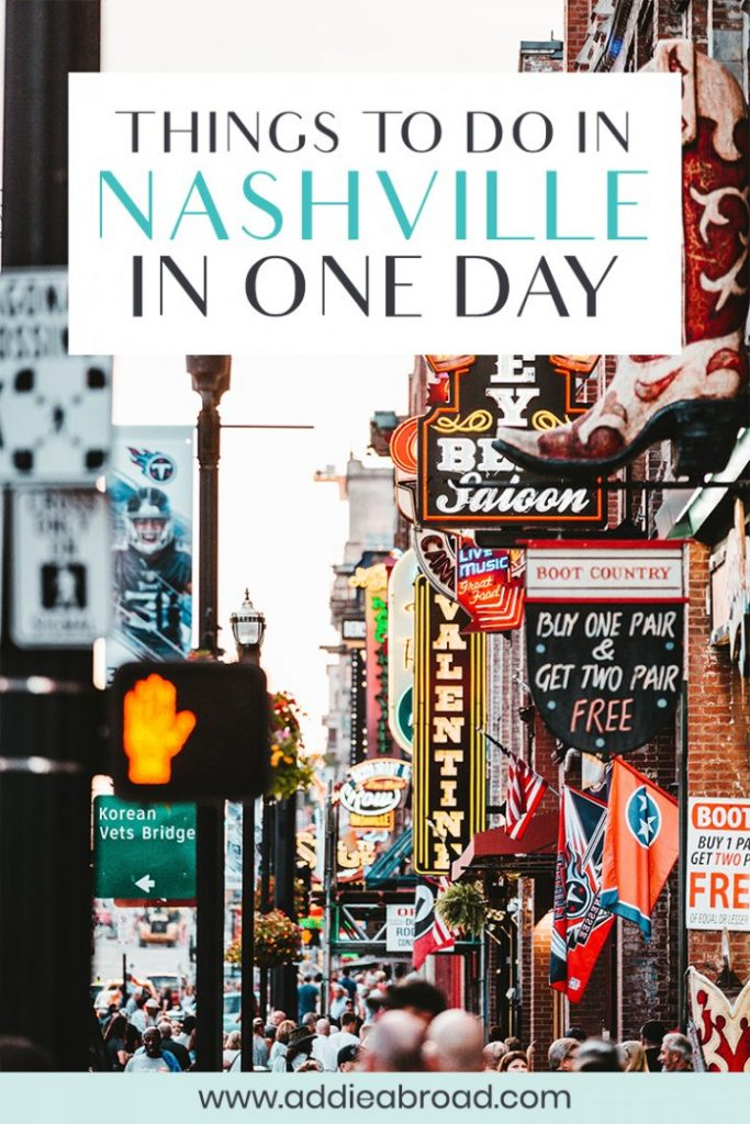 Only have one day in Nashville to see everything you can? Here are the best things to do in Nashville, Tennessee on your travels, including the Country Music Hall of Fame, Ryman Auditorium, and the best murals! Also find out about the best Nashville food, Nasvhille Instagram spots, and where to stay in Nashville. #usa #travel