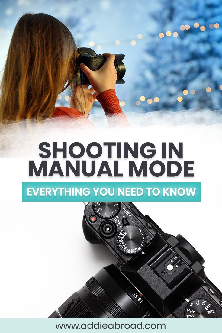 Want to learn more about shooting in manual mode? This blog posts covers everything you need to know about getting off auto mode, including exposure, aperture, shutter speed, iso, and manual mode tips for beginners. Up your photography game today!