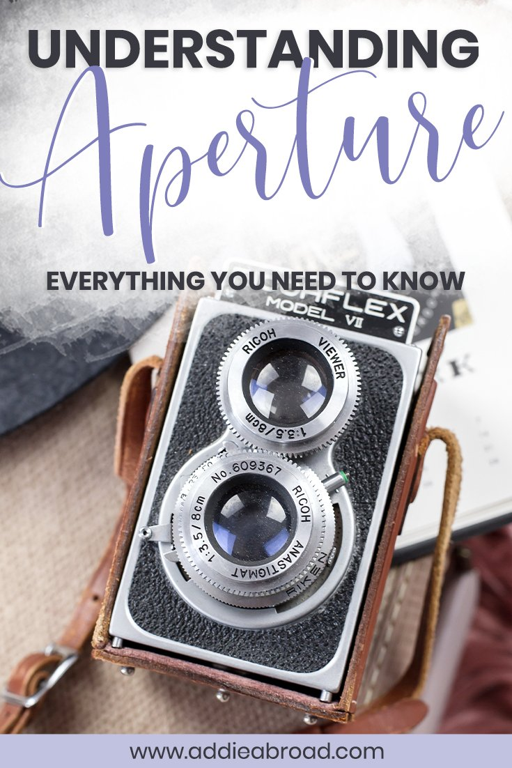 Want to start shooting in manual mode? You'll need to understand aperture. Learn everything you need to know about aperture in photography in this blog post, including how it effects depth of field and focus.
