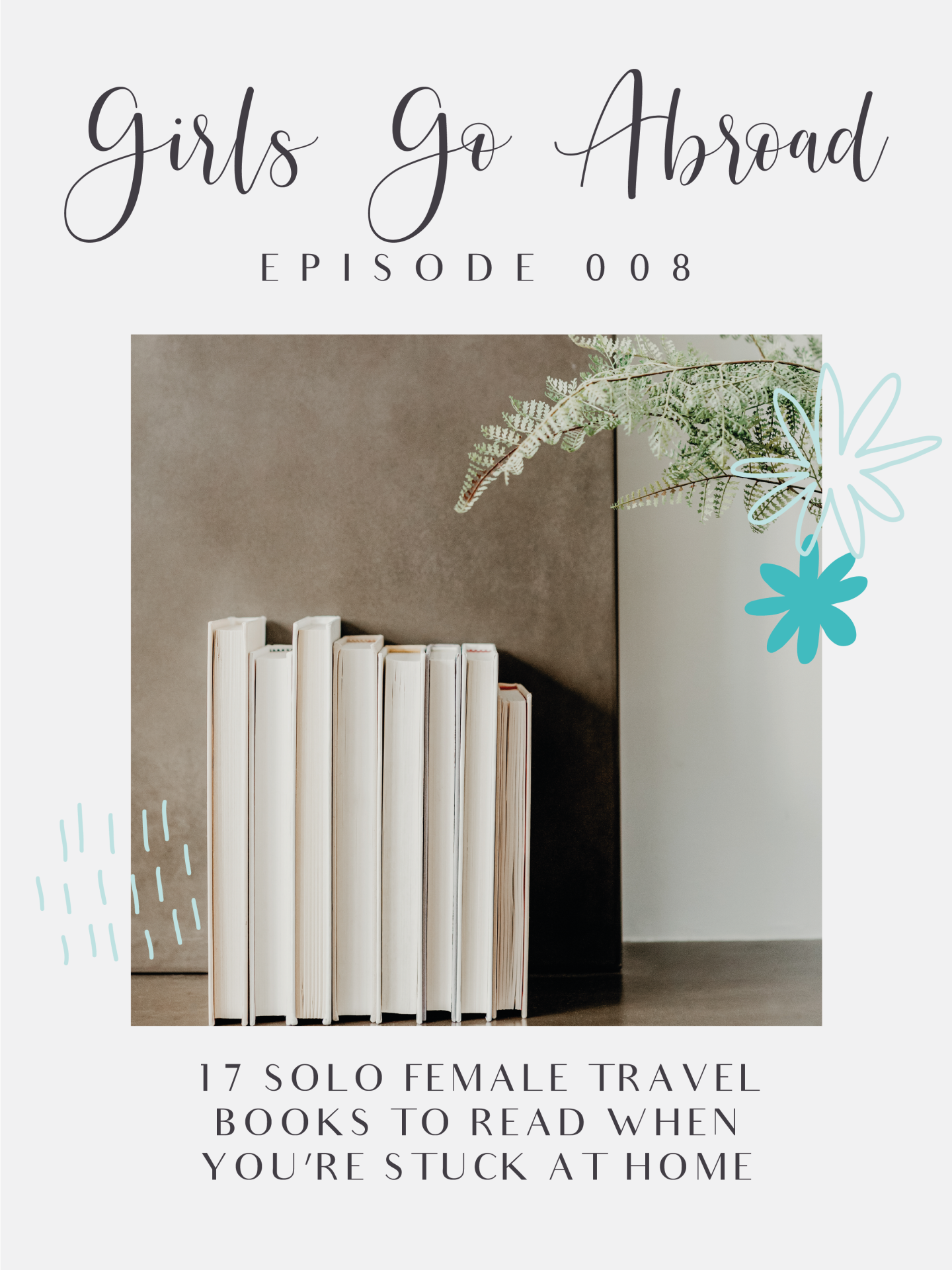 If you're looking for something to do when you're stuck at home and missing travel, then you need to read these 17 solo female travel books! They include Eat, Pray, Love, Wild, and more! #travel #books