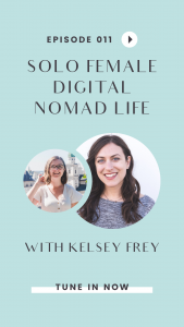Ever wondered what it's like to work online and travel the world as a solo female? In this interview with online english teacher and digital nomad, Kelsey Frey, we talk all about life as a solo female digital nomad and the community Kelsey has found in Bansko, Bulgaria. Click through to tune in!