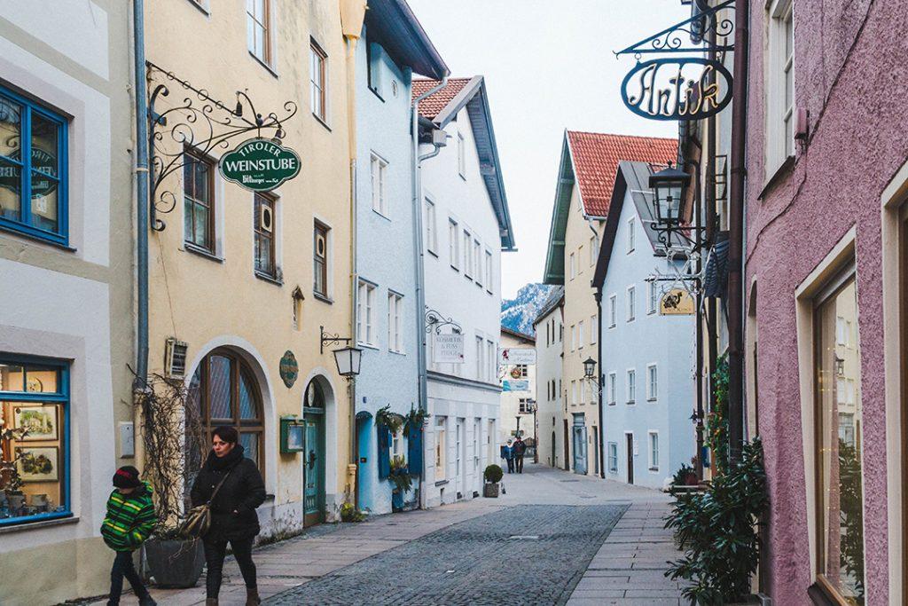 a cute street in