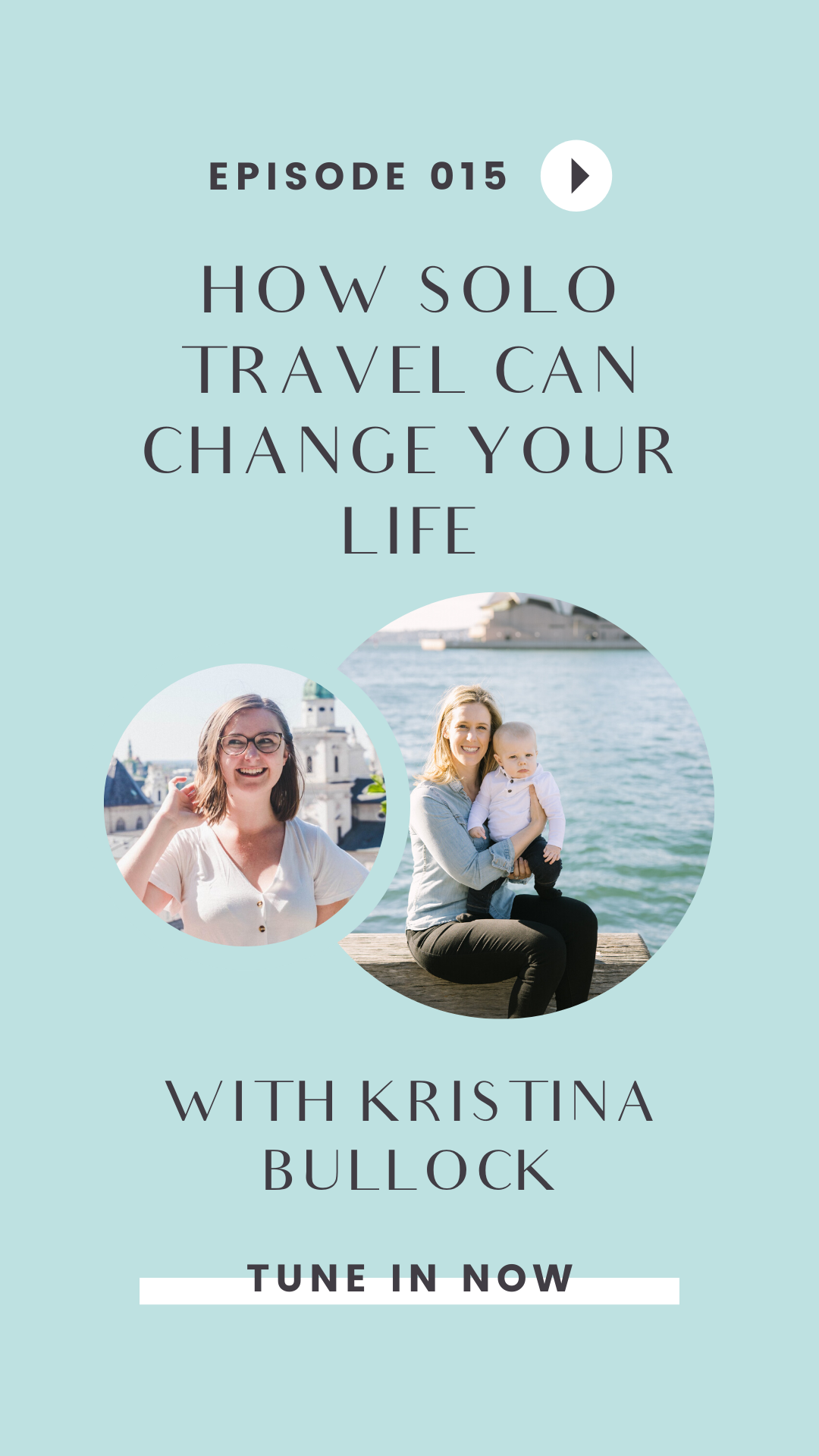 From study abroad to solo travel to couples travel to family travel, Kristina Bullock's life has revolved around travel. Tune in to this episode of the Girls Go Abroad podcast to hear her wisdom.