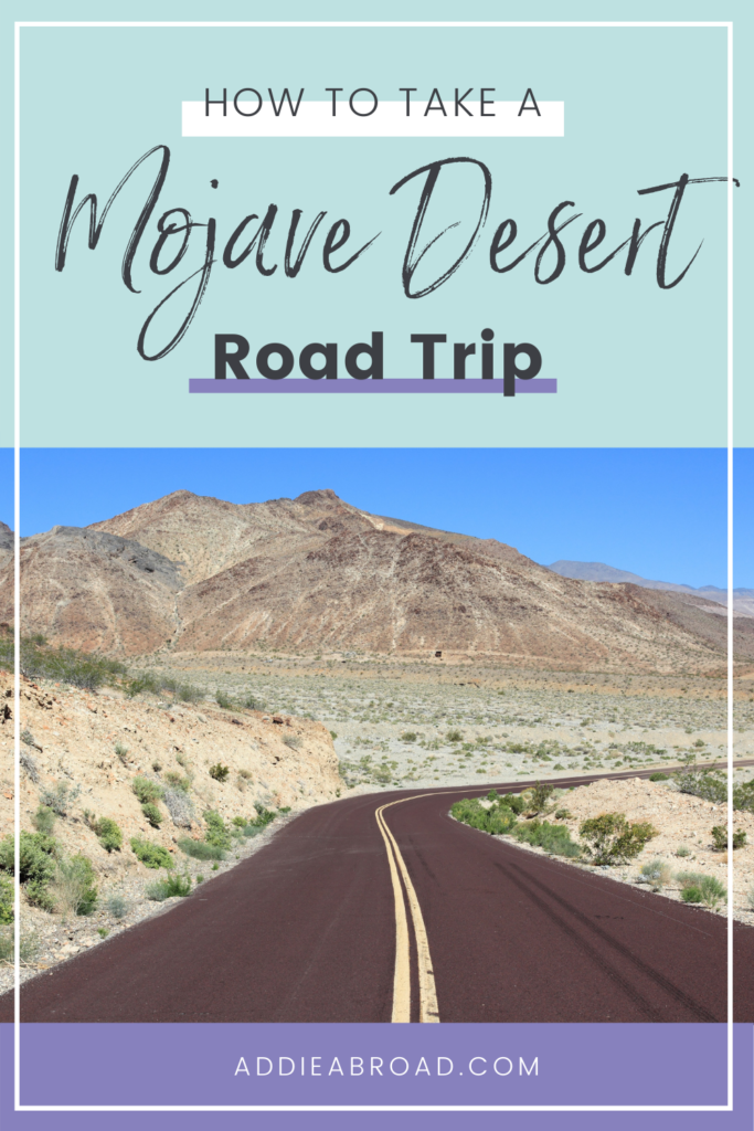 The Mojave National Preserve is an absolute MUST on your California road trip itinerary. Click through to learn why you have to visit the Mojave Desert, California!