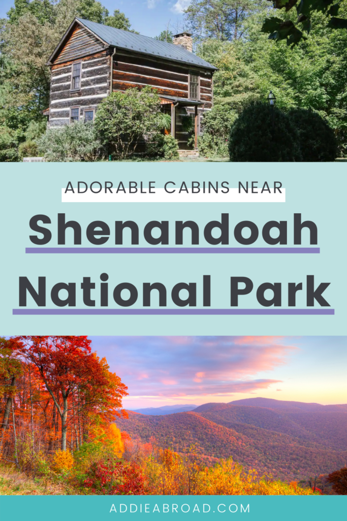 Looking for the best Shenandoah National Park lodging? Look no further than one of these 16 adorable cabins! From small romantic getways to cabins large enough for a big group, you're sure to find the perfect place to stay near Shenandoah National Park and Skyline Drive.